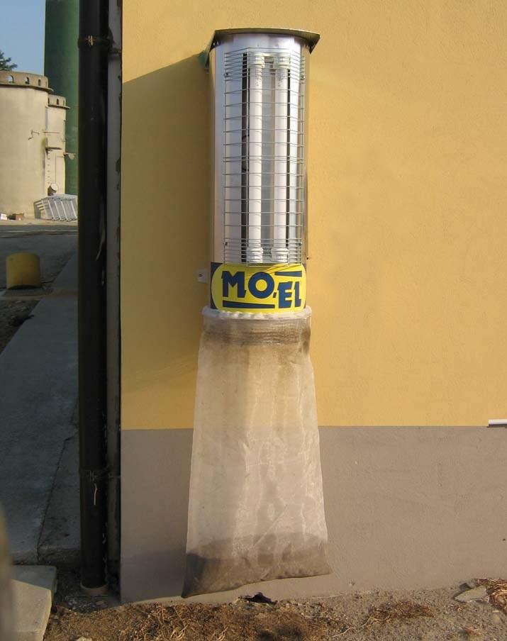 Lampa owadobójcza wiatrakowa Turbine 30602 MOEL